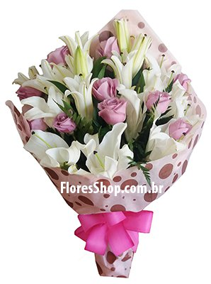 575 Lilies and roses